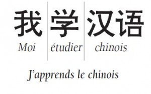 J´apprends le chinois